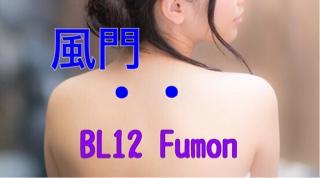 【ツボ】Fumon(風門)